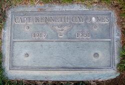 Capt Kenneth Gay Gay Jones