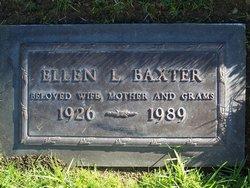 Ellen La Yonne <i>Porter</i> Baxter