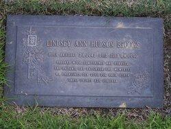 Lindsey Ann <i>Hudson</i> Brooks