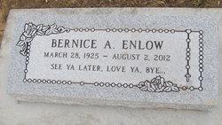 Bernice Ann <i>Rowe</i> Enlow