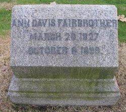 Ann <i>Davis</i> Fairbrother
