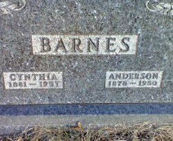 Cynthia Lee <i>Bartee</i> Barnes