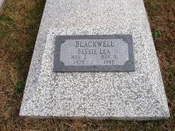 Bessie Lea Bee <i>Owen</i> Blackwell