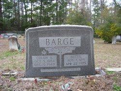 Mittie Augusta <i>Jones</i> Barge