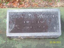 Pearl <i>Williams</i> Barton
