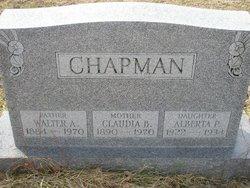 Claudia B <i>Yeager</i> Chapman