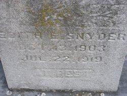 Edith E Snyder