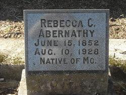 Rebecca Catherine <i>Boswell</i> Abernathy