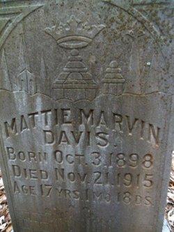 Mattie Marvin Davis