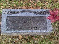 Carol Jean <i>Barker</i> Ellis