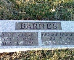 Ruby Allene <i>Keithley</i> Barnes