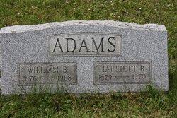 Harriett Belle <i>Green</i> Adams