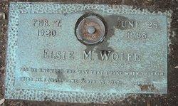 Elsie M <i>Randolph</i> Wolfe
