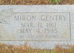Miron Gentry