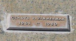Gladys R Zimmerman