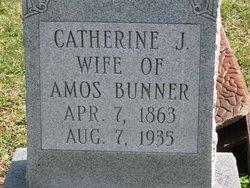 Catherine J Bunner
