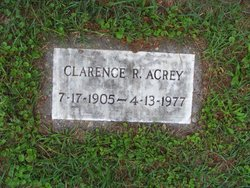 Clarence R Acrey