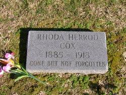 Rhoda Ann <i>Herrod</i> Cox