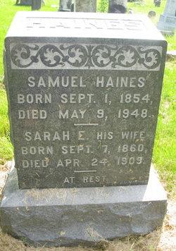 Sarah E. Haines