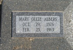 Mary Ollie Albers
