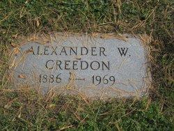 Alexander W Creedon