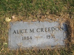 Alice M Creedon
