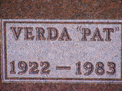 Verda Pat <i>Patterson</i> Croft