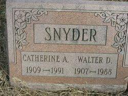 Walter D. Snyder