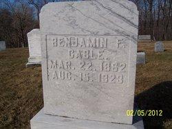 Benjamin F Cable
