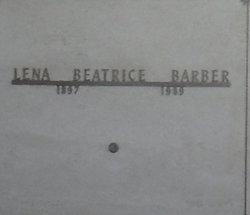 Lena Beatrice <i>Brinlee</i> Barber