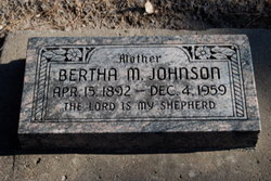 Bertha M (Obley) <i>Johnson</i> Jackson
