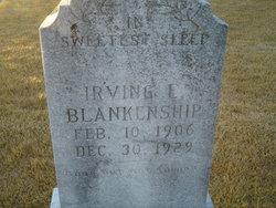 Irving E Blankenship