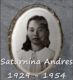 Saturnina Mateo Andres