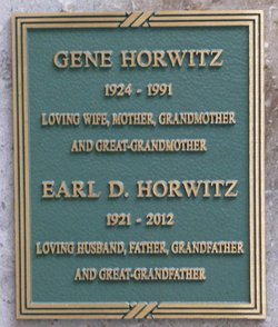 Earl D Horwitz