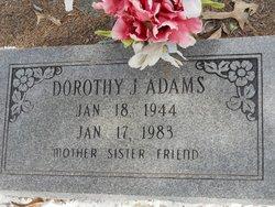 Dorothy J Adams