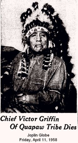 Chief Victor William Geh-Hu-He Jinka Griffin