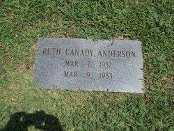 Alma Ruth <i>Canady</i> Anderson