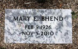 Mary Elizabeth <i>Marble</i> Bhend