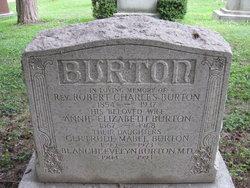 Dr Blanche Evelyn Burton