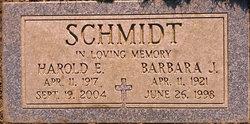 Harold E Schmidt