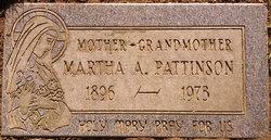 Martha A <i>Haraste</i> Pattinson