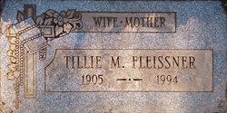 Tillie M <i>Haraste</i> Fleissner