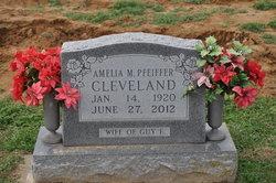 Amelia M <i>Pfeiffer</i> Cleveland
