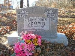 Chetona <i>Porter</i> Brown