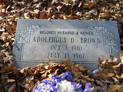 Adolphus D. Brown