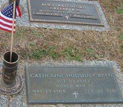 Nellie Catherine <i>Hudson</i> Green