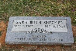 Sara Ruth Shroyer