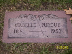 Isabelle <i>Tucker</i> Purdue