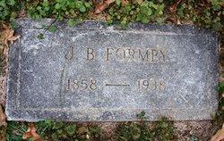 James Buchanan Formby