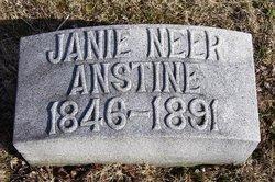 Janie <i>Neer</i> Anstine